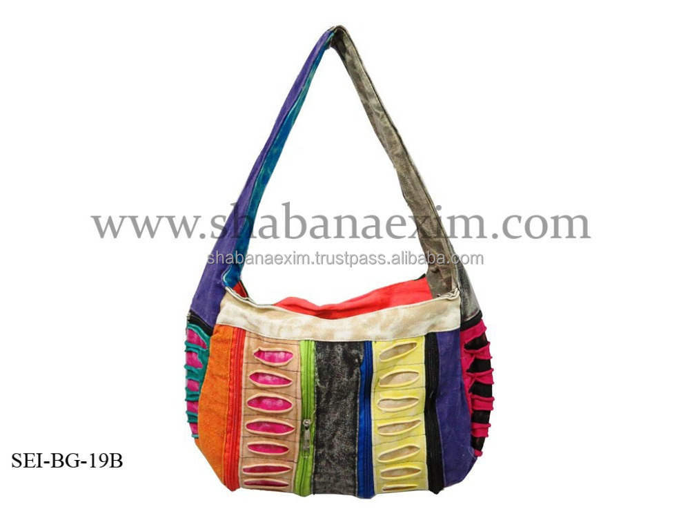 Various stylish rasta bags gypsy Nepali hobo bags hippie messanger bags light and trendy