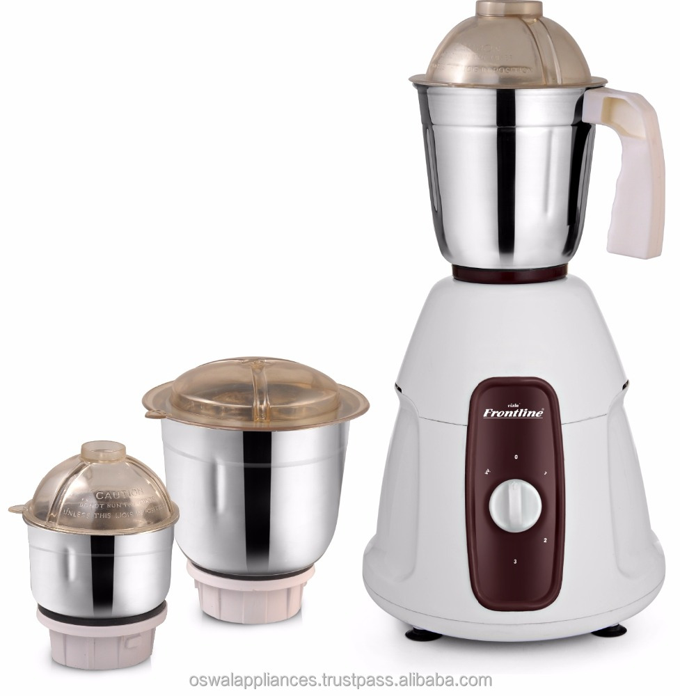 """HOT"" 500 Watts Mixer Grinder with 3 jar's"