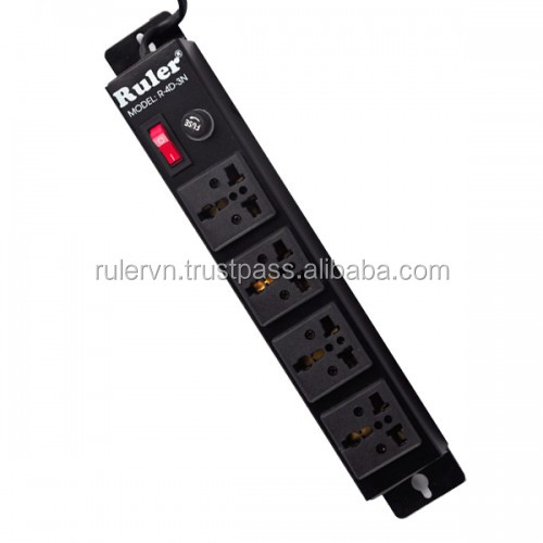 Ruler MULTI-FUNCTION PLUG SOCKET R-4D-3N