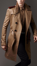 men jacket Military slim,Trench Coats and Brown Trench Coat