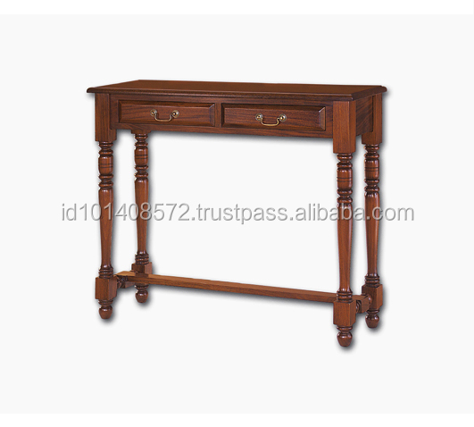TOP Bisini Antique Mahogany Hall Table D 2 - Console Table Furniture.
