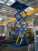 Multi Stage Electric Scissor Elevator Lift with Table for Warehouse