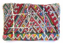 Vintage Moroccan Handwoven Berber Kilim Cushions