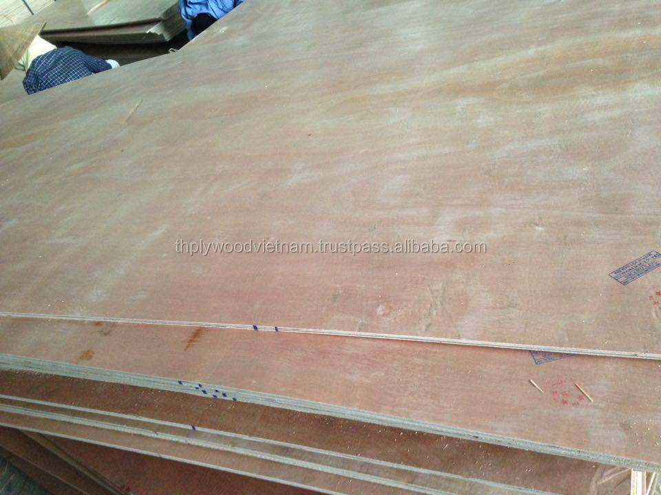 okoume plywood sheets 1220mm x 2440mm, cheap plywood products from Vietnam