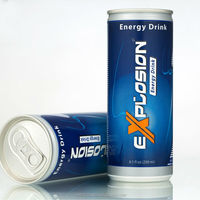 Explosion Energy Drink In Slim Can