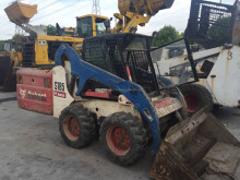 Used Skid Steer Loader Bobcat S185, small backhoe loader, mini backhoe loader ( call 0086-15800802908 )
