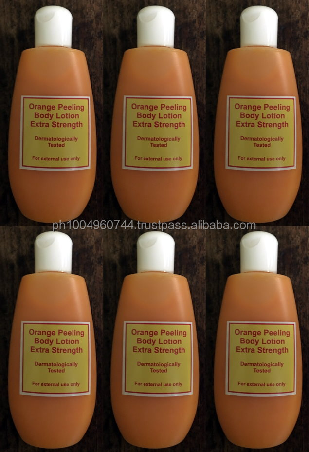 6 Orange Peeling Body Lotion Extra Strength Derma Tested