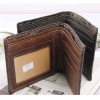 Logo Printed Leather Wallet OEM