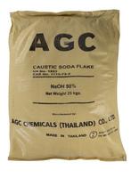 Caustic soda flake , sodium hydroxide water treatment chemical for ph balance 25kg per bag ISO premium grade