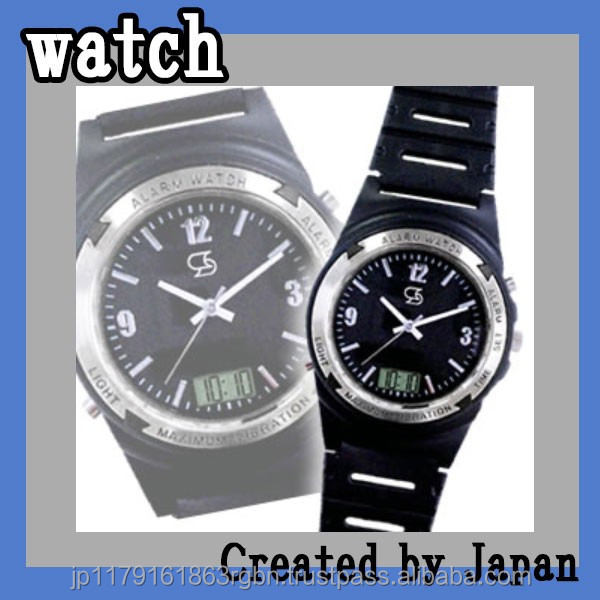 Stylish and High quality smart wrist watch with backlight created by Japan