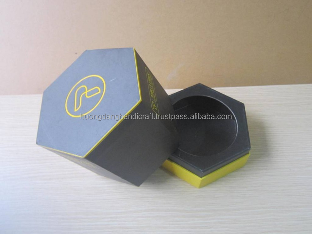 Vietnam factory price hexagon packaging box with lid