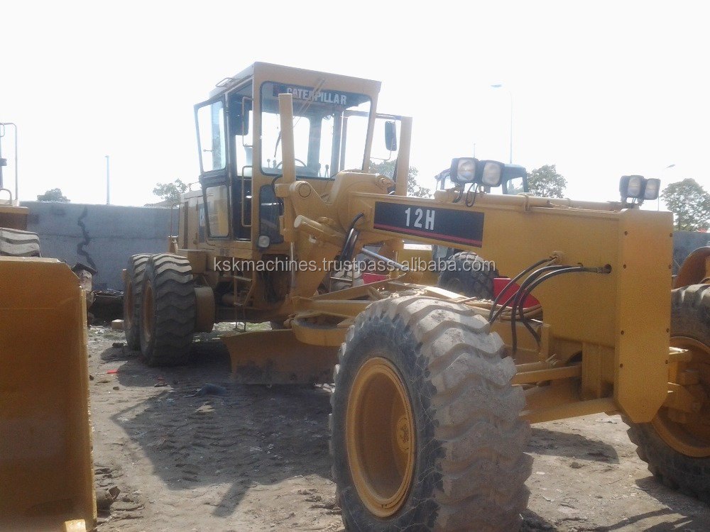 lowest price used Cat 12h motor grader for sale