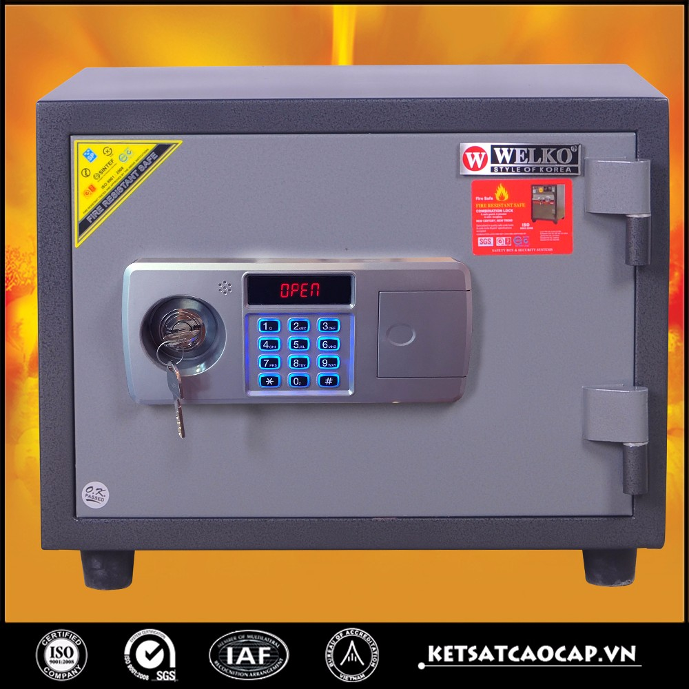 New electronic security product / Digital fingerprint lock safe box security equipment new design - 60 E