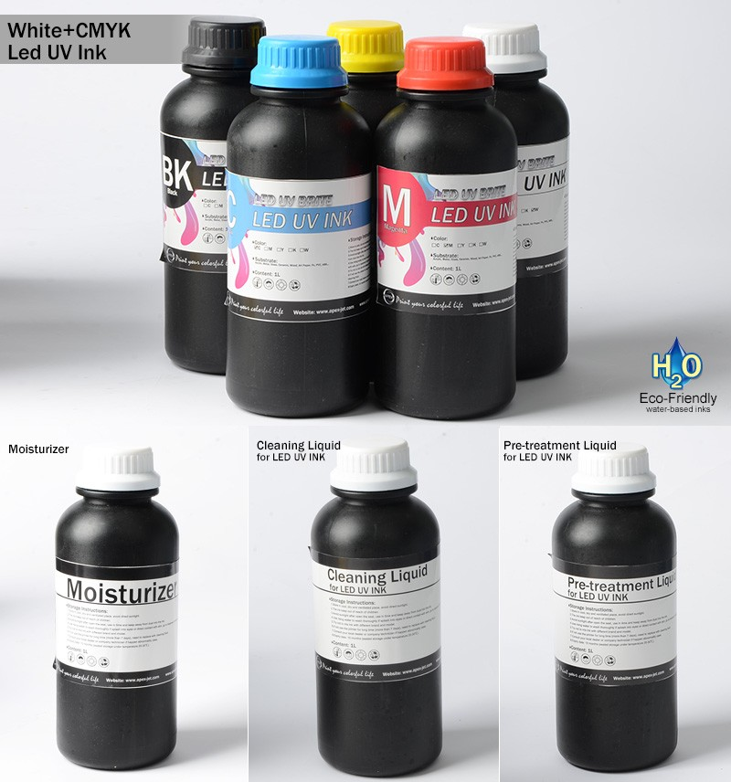 1 Liter Magenta UV Ink for UV Printer