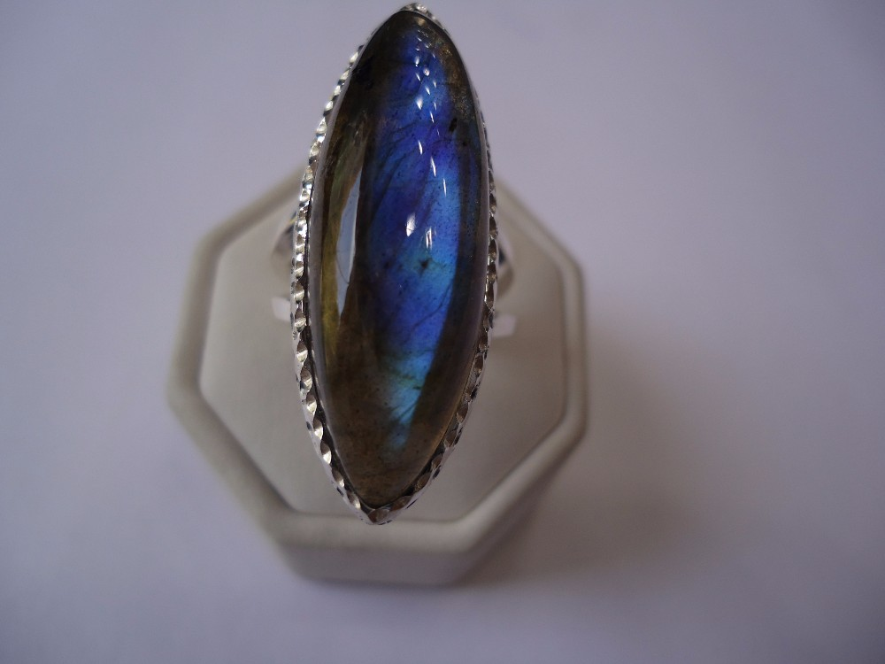 Awesome Design 925 Sterling Silver jewelry Lapis Rings