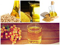 Natural refined soybean oil