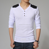 new pakistan-casual-slim-fit-men-s-V-neck-full-sleeve-font-b