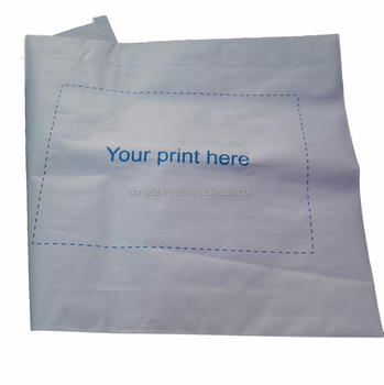 Waterproof composite pp woven and white kraft paper frozen bag