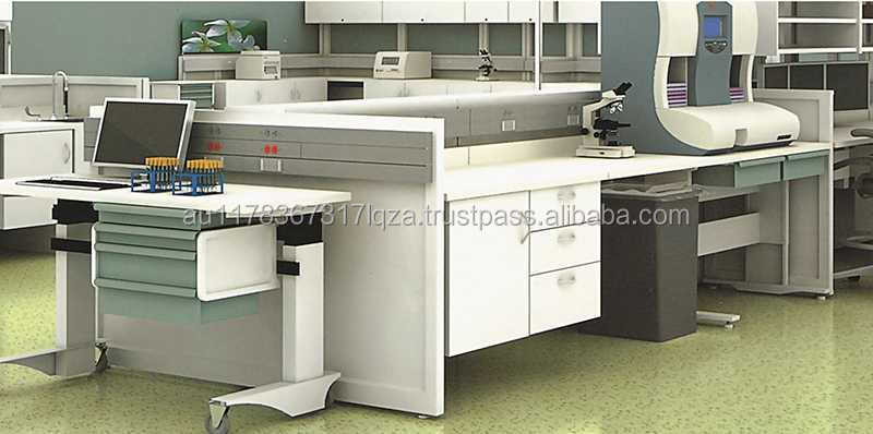 HOSPITAL CLINIC PATHOLOGY BIO MEDICAL TEST OPERATE FURNITURE SET