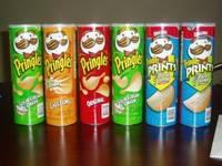 Pringles Potato Chips All Flavours