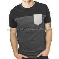 2016 new model men's t shirt with pocket for men new fashion design your own t shirt
