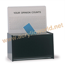 Standing Donation Boxes/Plastic Ballot Box