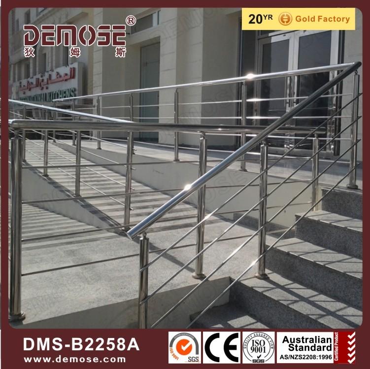 Portable Handrails For The Elderly : Modern house portable staircase handrail design for