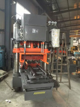 Thin terrazzo floor tile making machines