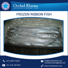 Whole Frozen Ribbon Fish with Delicious Taste and Longer Shelf Life