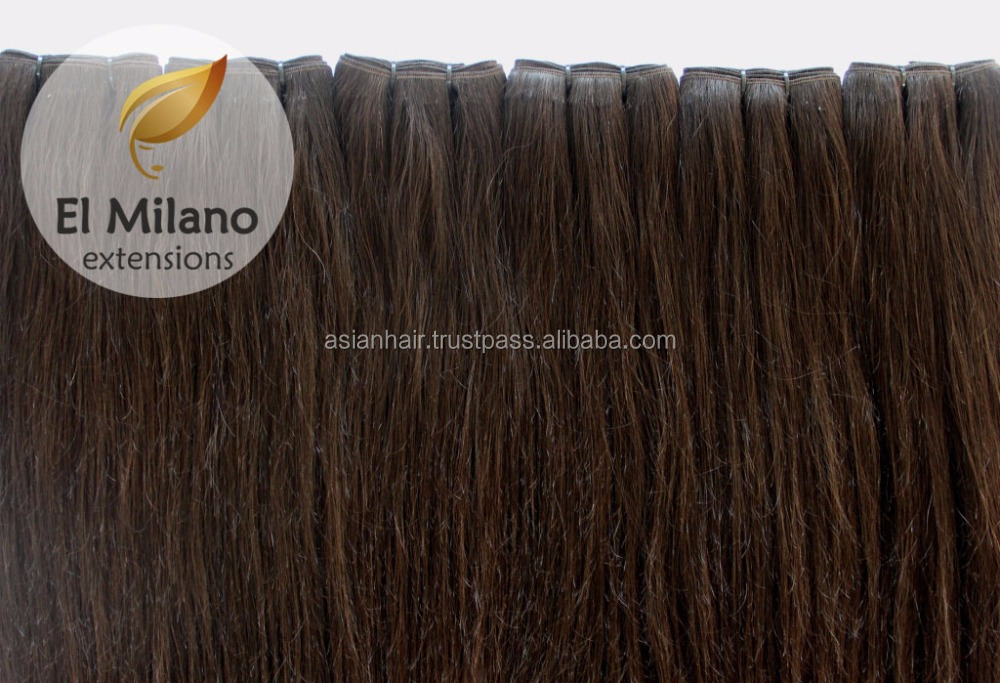 Hot Selling Weft Hair Extension The Best Quality Hair Weaving in the World Amazing Virgin Weft Human Hair Extension