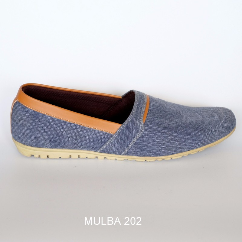 MULBA 202 Men Canvas-Leather Shoes