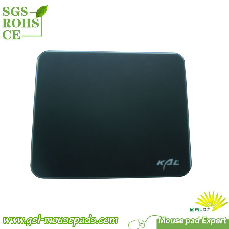 High Quality Glazed Tempered Glass Mouse Pad hard top mousepad