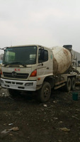 used concrete mixer used FUSO MITSUBISHI HINO concrete mixer 8CBM for sale