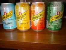 Schweppes Tonic / Biter Lemon / Ginger Ale available for deliveries