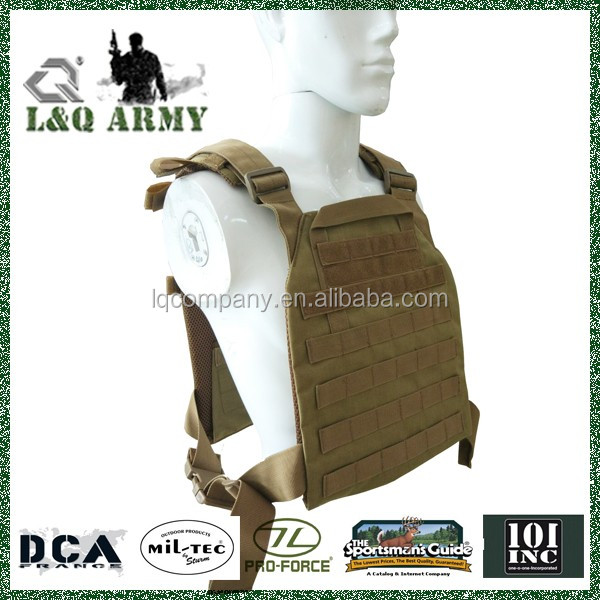 Military Cutaway Tactical Bulletproof Armor Vest