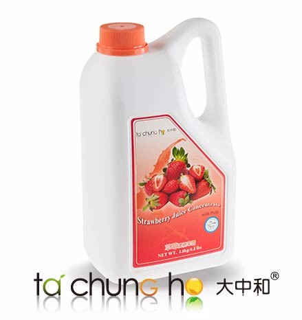 Best Selling Wholesale TachunGho Strawberry Juice Concentrate