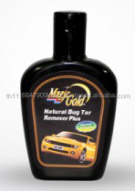 High concentrated self-service car cleaning products Natural Bug and Tar Remover Plus Oil 100 ml.