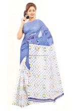 Minu saree Cotton printed Indian casual Saree
