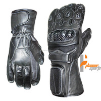 Perforated Leather Glove motorcycle motorbike racing gloves Bike. Motorbike Gloves.