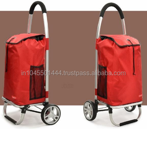 COST EFFECTIVE PRICES FOLDING SHOPPING TROLLEY BAG(2 WHEELS)