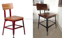 Vintage Industrial Dining Table Chairs , Industrial Kitchen & Dining Chairs