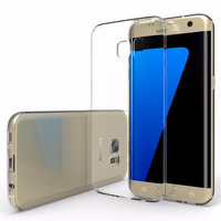 Clear Ultra Thin Gel Transparent Case for Samsung Galaxy S7 Edge