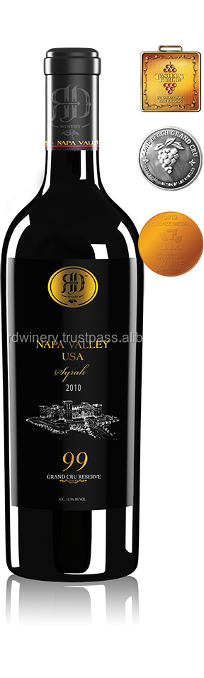99 Syrah 2010 Bronze Medal - Napa Valley Red Wine 230517