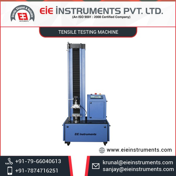 High Capacity Tensile Testing Machine from Leading Supplier