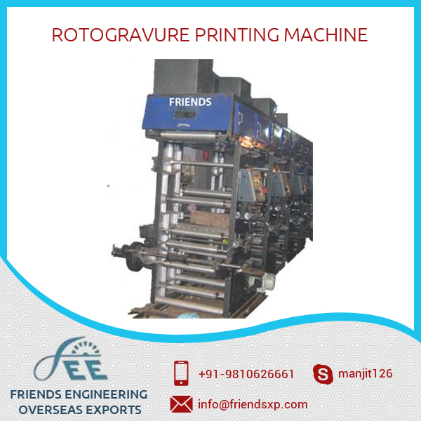 Factory Sale Widely Used Rotogravure Printing Machine with Special Features
