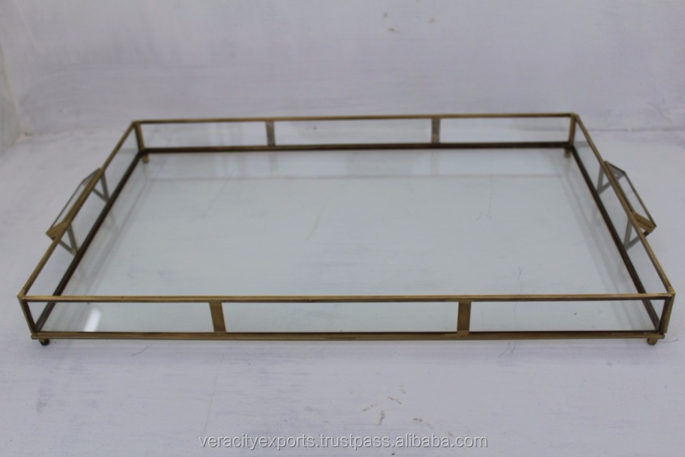 Wedding Decor tray / brass tray