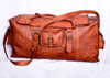 Stylish vintage leather handmade Big capacity travel bag