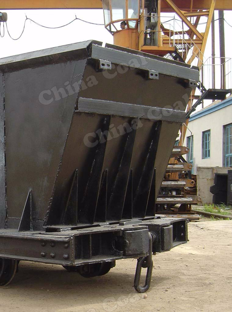 Chinacoal MDC Series Underground Mining Bottom Dump Ore Car For Sale