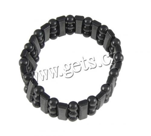 Healthy hematit Bracelet 18mm Sold Per 7 Inch Strand 707302 magnetic hematite jewelry wholesale