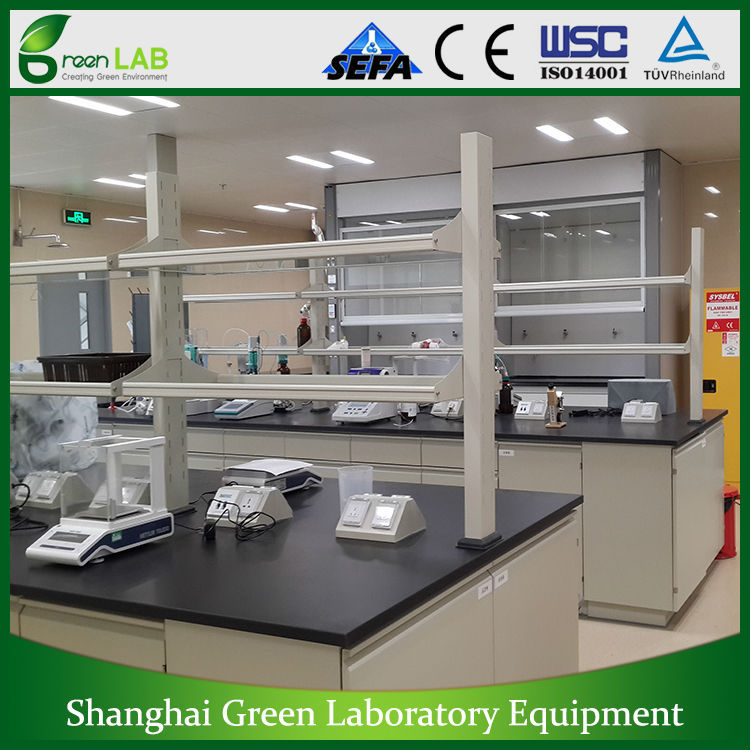 Full Steel lab bench, Laboratory Furniture, biology lab bench